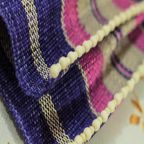 Raffia Rolls (placemats and table runner)