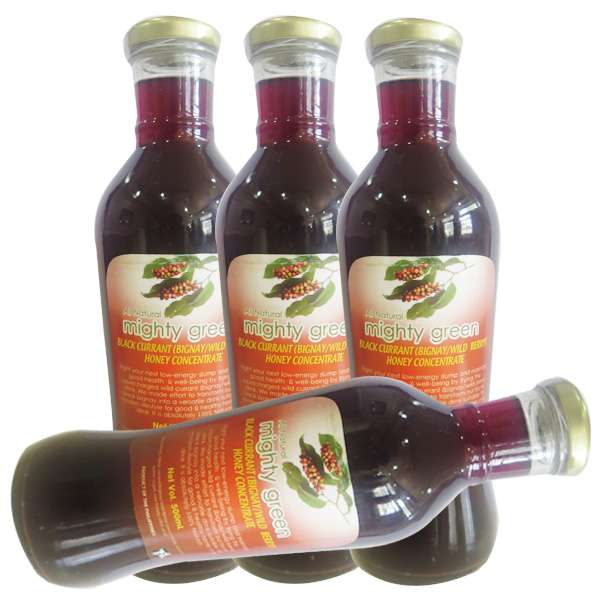 Mighty Green Black Currant (Bignay/Wild Berry) Honey Concentrate